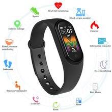 M5 bande intelligente femmes Bluetooth appel/musique couleur écran étanche fréquence cardiaque pression artérielle hommes santé Bracelet Bracelet intelligent