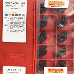 DNMG442-PF SANDIV 4315 DNMG150608-PF 4315 wkładki z węglika 10 sztuk oryginalnego produktu