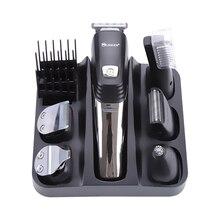 Surker 5 1 profesyonel saç kesme USB şarj saç düzeltici sakal burun düzeltici erkekler için saç kesimi makinesi bakım makinesi