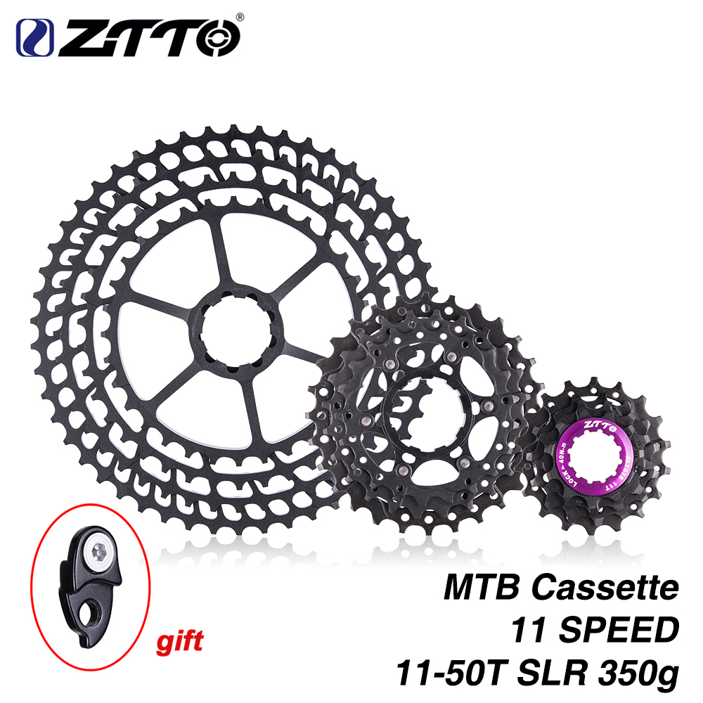 ZTTO 10 Speed Mountain Bike SLR2 Cassette 11-50T Ultralight CNC Ratio Cassettes