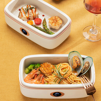 220V Electric Lunch Box Intelligent Rice Cooker Three dimensional Heating Portable Multi+cooker Heat Preservation Cooker 800ml
