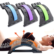 Magnetic Back Stretcher Lumbar Spine Traction Massage Back Pain Support Pressure Therapy Back Massager Full Body Massage