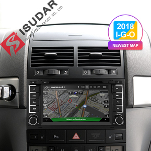Image 2 - Isudar 2 Din Auto Radio Android 9 For VW/Volkswagen/Touareg CANBUS Car Multimedia Video DVD Player GPS Navigation USB DVR FM/AM