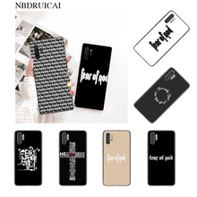 NBDRUICAI Hot American trend street brand fear god Phone Case for Samsung Note 4 5 7 8 9 10 pro A7 2018 A10 A40 A50 A70 J7 2018(China)