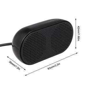 Image 5 - HK 5002 Computer Speaker USB Speaker Plug & Play Portable USB powered Speaker Double Horn 3W Output for PC Laptops