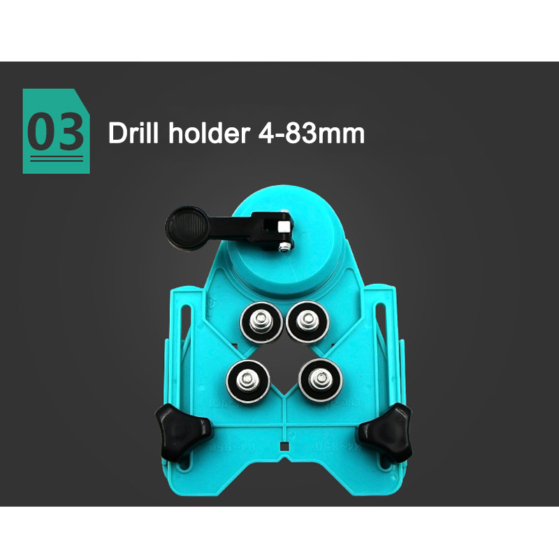 Drill Bit Tile Glass Hole Locator Saw Core Bit Guide Opening Adjustable 4-83mm OCT998
