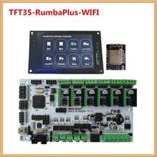 3d drucker display MKS TFT35 touch screen + MKS RumbaPlus + MKS WIFI monitor FDM drucker DIY kit TFT 35 LCD einheit RUMBA bord