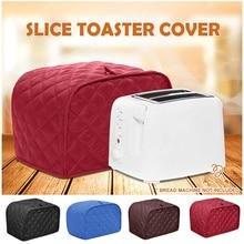 Zwei Vier Scheiben Toaster Abdeckung Brot Toaster Protector Maschine Waschbar Passt Meisten Standard 2 4 Scheiben Toasters Staub Proof Abdeckung