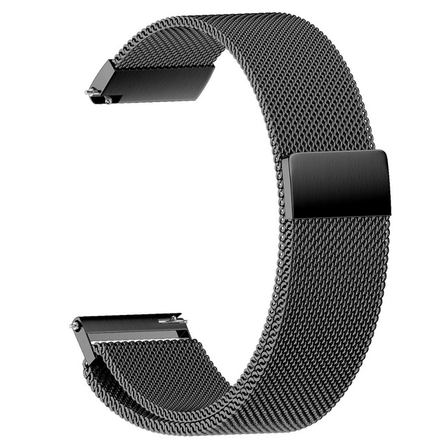 22mm 20mm 18mm Milanese strap for Gear sport/S2/S3 Frontier Classic Band huami amazfit bip Strap huawei GT Galaxy active 42 46mm | Watchbands