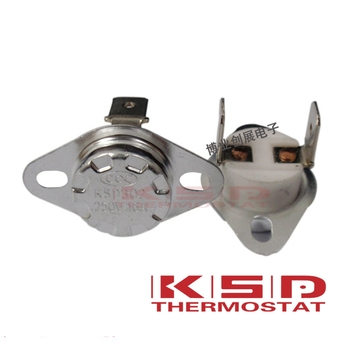 цена на Ceramics Thermostat Thermostat KSD301/KSD302 40C~300C 16A250V NC Normal Closed Temperature Switch 160C 180C 200C 220C 250C 300C
