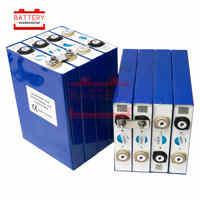 lifepo4 battery 8Pcs 3.2v 50AH cell NEW lithium iron Rechargeable Batteries pack to 12v50AH 24V for solar RV E Bike/EV pack