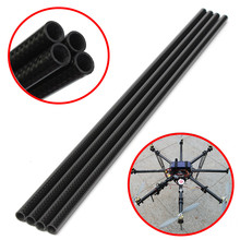 3K Roll Wrapped 10mm Carbon Fiber Tube 8mm x 10mm x 500mm Glossy for RC Drone Quadcopter Spare