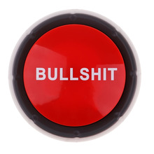 Sound Button Bullshit Event Party Tools Talking Funny Gift Hobby
