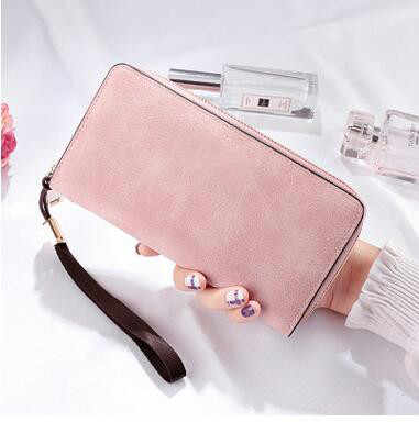 Brand Designer Wristband Wallets Women Many Departments Clutch Wallet Female Long Large Card Purse Ladies Handbag