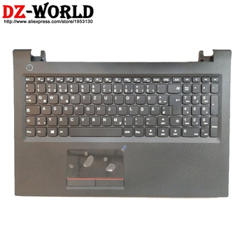 New /Orig Shell Palmrest Upper Case With German Keyboard Touchpad for Lenovo V510-15IKB Laptop C Cover 5CB0M32064