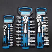 Combination Set Chrome Steel Vanadium Ratchet Set  Wrench  Cycle Socket Wrench Kit