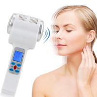 LCD Hot and Cold Hammer Ultrasonic Cryotherapy Facial Equipment