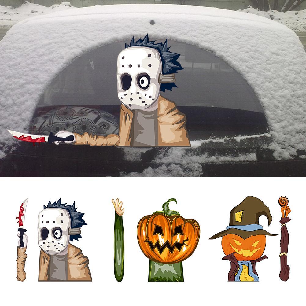 Декоративные наклейки на заднее стекло автомобиля, наклейка на заднее стекло, переводная картинка на заднее стекло, объемные наклейки на дв...