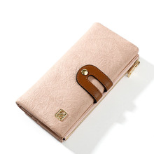 Ladies Long Vintage Wallet Upscale Atmosphere Simplicity All-match Multifunction Designer Niche Crowdsourcing Suede
