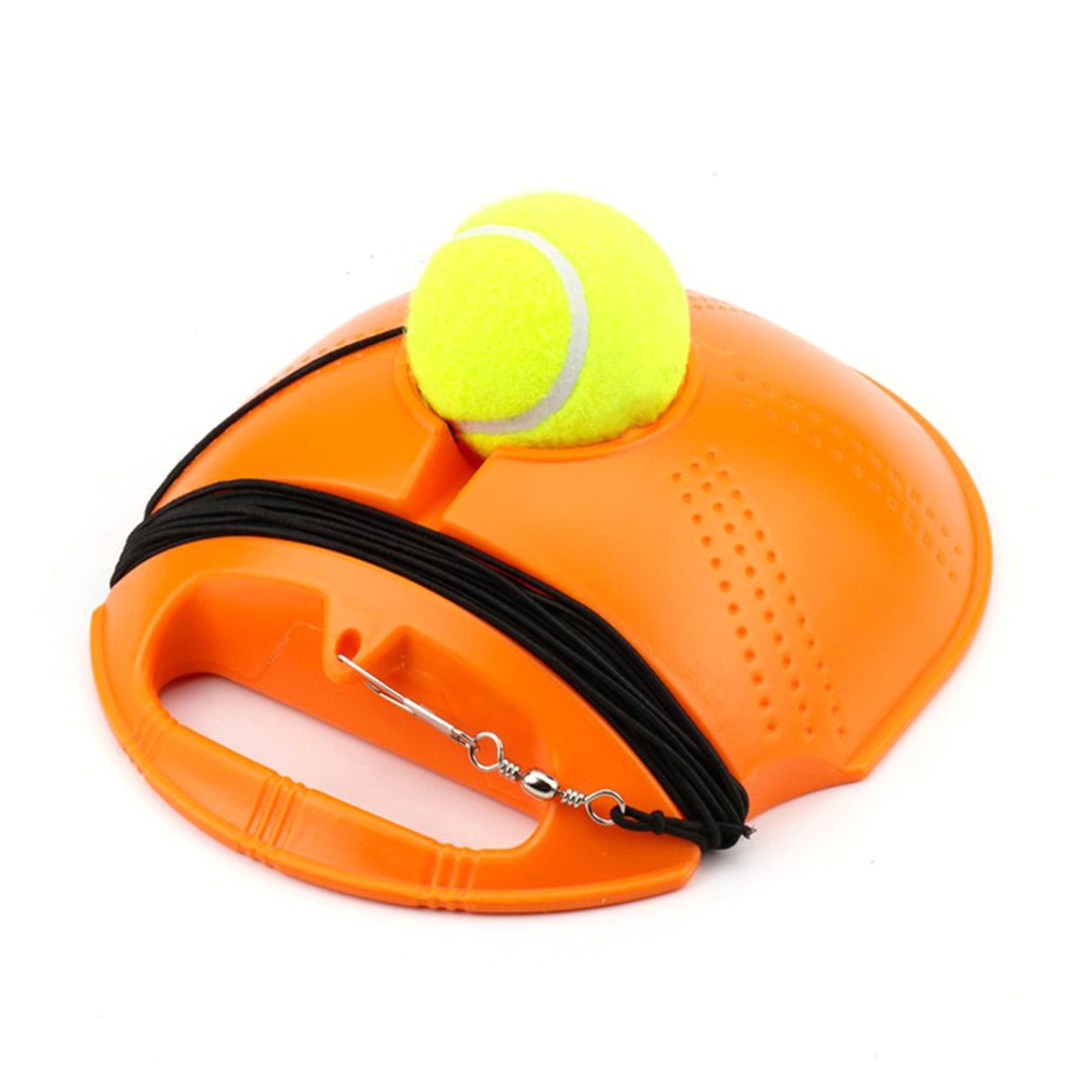 Single Tennis Practice Set Solo Training Suitable For Trainer Or Individual Use Convenient Self-Timer Practice Ball Serve