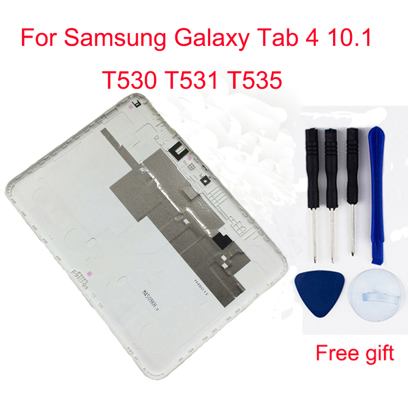 For Samsung Galaxy Tab 4 10.1 T530 T531 T535 SM-T530 SM-T531 SM-T535 Back Battery Housing Cover Case Battery Door Cover
