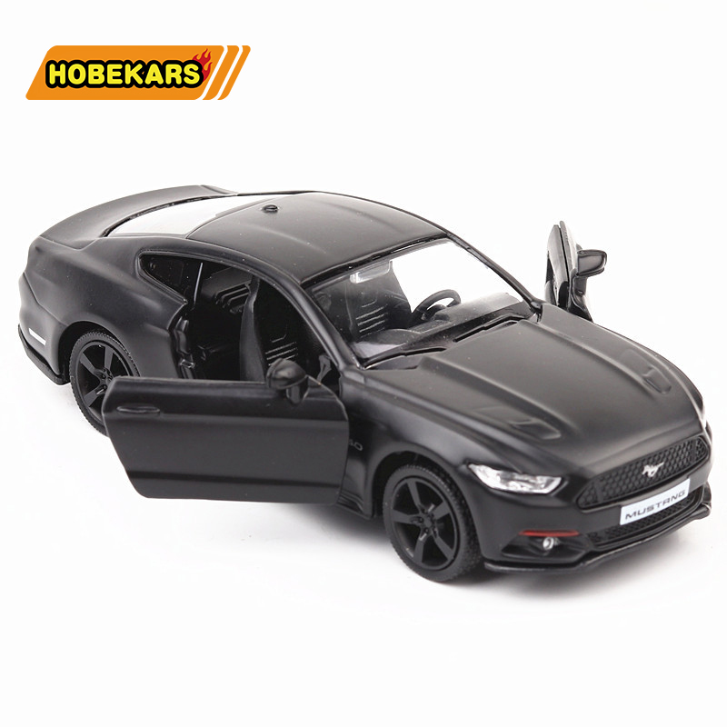 High Simulation Ford Mustang 1:36 Diecast Model Toy Car Metal Alloy Pull Back Cars Toys Vehicles For Kids Gifts For Children