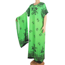 Wholesale African Clothing For Women Fashion 100% Cotton Flo