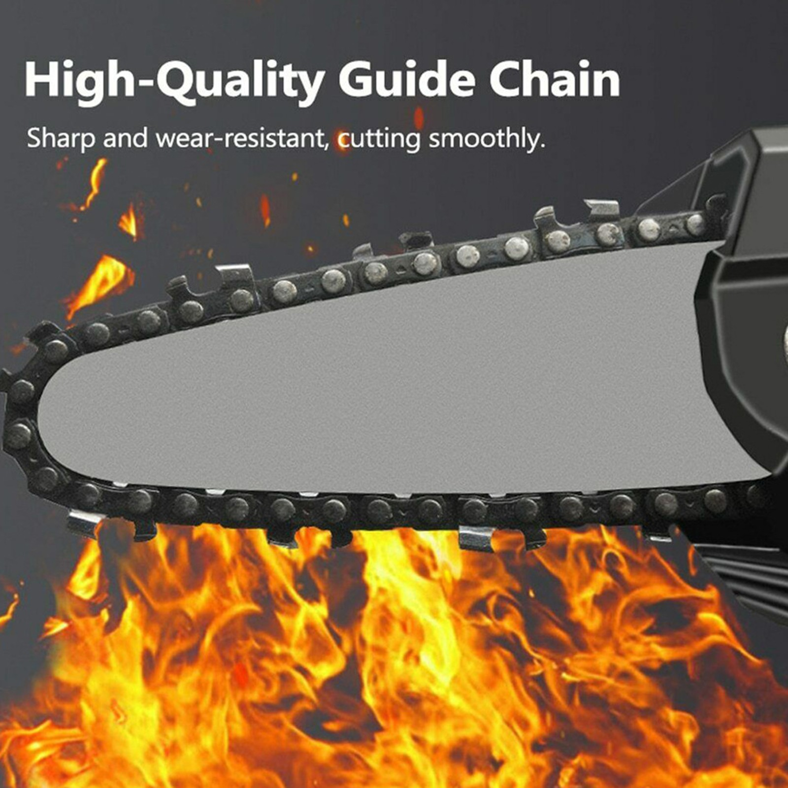 Mini  Chain Saw Chain for 4-Inch saw Cordless Electric Handheld Rechargeable Battery Chainsaw,Chainsaw Chain