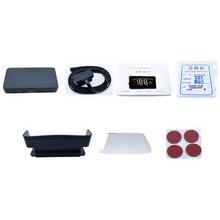 Universal Car HUD Display Vehicle Driving Safety Intelligent Alarm System Remind G6DD