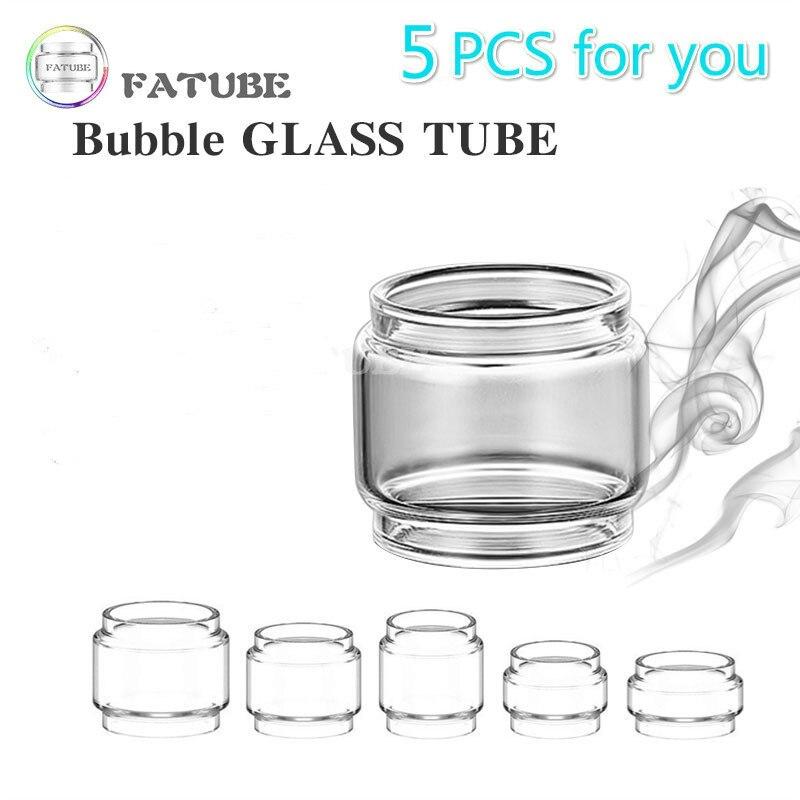 5pcs FATUBE Bubble Glass Tube Cigarette Accessories For Vaporesso Skrr-s Mini/LUXE Nano Kit/sky Solo Plus/NRG SE/VECO Plus Tank