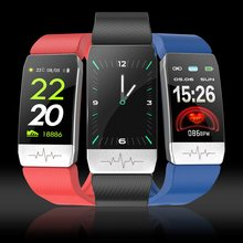 T1 Smart Watch Band Temperature Measure ECG Heart Rate Blood