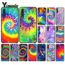 Yinuoda Abstrakte Regenbogen Welligkeit Tie Dye kunst Benutzerdefinierte Telefon Fall für Huawei P9 P10 Plus Mate9 10 Mate10 Lite P20 pro Honor10 View10(China)