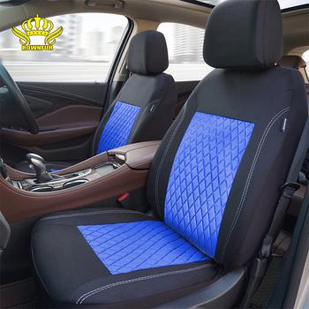ROWNFUR poliestrowy pokrowiec na fotel samochodowy uniwersalny pasuje większość samochodów ochraniacz na fotel cztery pory roku pokrowce samochodowe do siedzenia stylizacja wnętrza 1 zestaw tanie i dobre opinie Poliester 46cm Pokrowce i podpory 1 2kg Podstawową Funkcją Seat Covers Universal Fit is Compatible with Most Vehicles