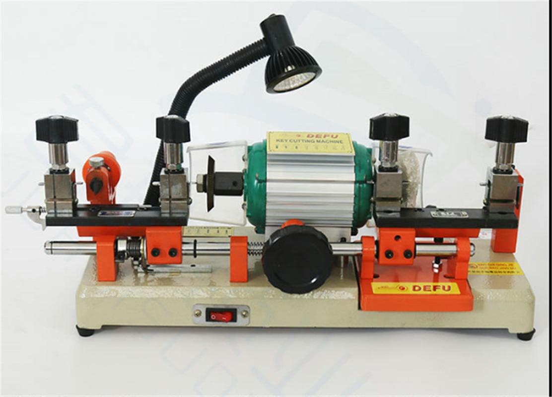220V 120W Double Head Key Cutting Machine For Copy Car Door Lock Keys Duplicating Key Copy Making Machine Locksmith Tools