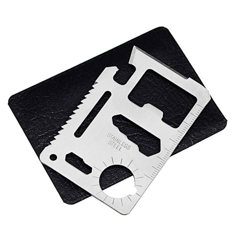 Mini Portable Stainless Steel Card Tactical Tool Outdoor Sports Camping Self-defense Emergency Survival Equipment
