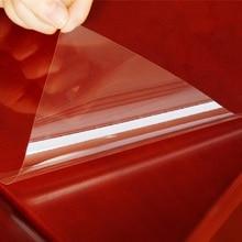 SUNICE 4 мил прозрачная защитная пленка для мебели термостойкая Глянцевая скатерть самоклеящиеся наклейки для деревянного стола