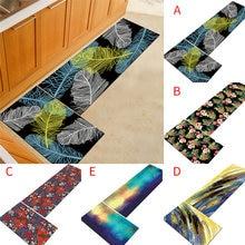 Нескользящий кухонный коврик Резиновая подложка набор ковриков