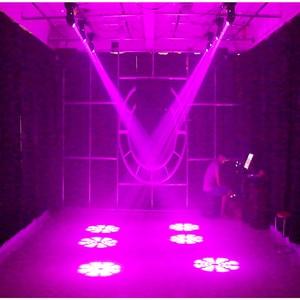 Image 5 - 75W LED ספוט הזזת ראש אור 65W DJ קרן אורות ספוט אור עם Gobo & צבע גלגל דיסקו תקליטנים Equipmentnt