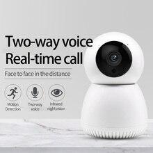 Kablosuz Wifi IP kamera hareket algılama otomatik HD kamera IR gece görüş PTZ 360 ° görünür ev güvenlik akıllı kamera Y12 YCC365