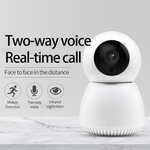 אלחוטי Wifi IP מצלמה מהלך זיהוי אוטומטי HD מצלמה IR ראיית לילה Ptz 360 ° גלוי אבטחת בית חכם מצלמה Y12 YCC365