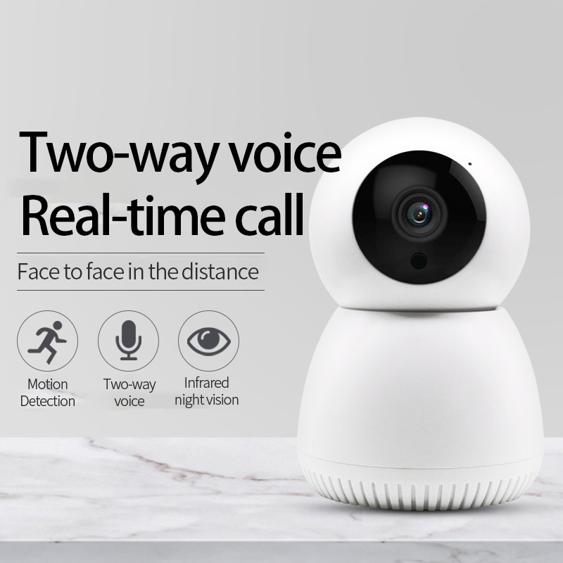 Wireless Wifi IP Camera Move Detection Auto HD Camera IR Night Vision PTZ 360° Visible Home Security Smart Camera Y12 YCC365