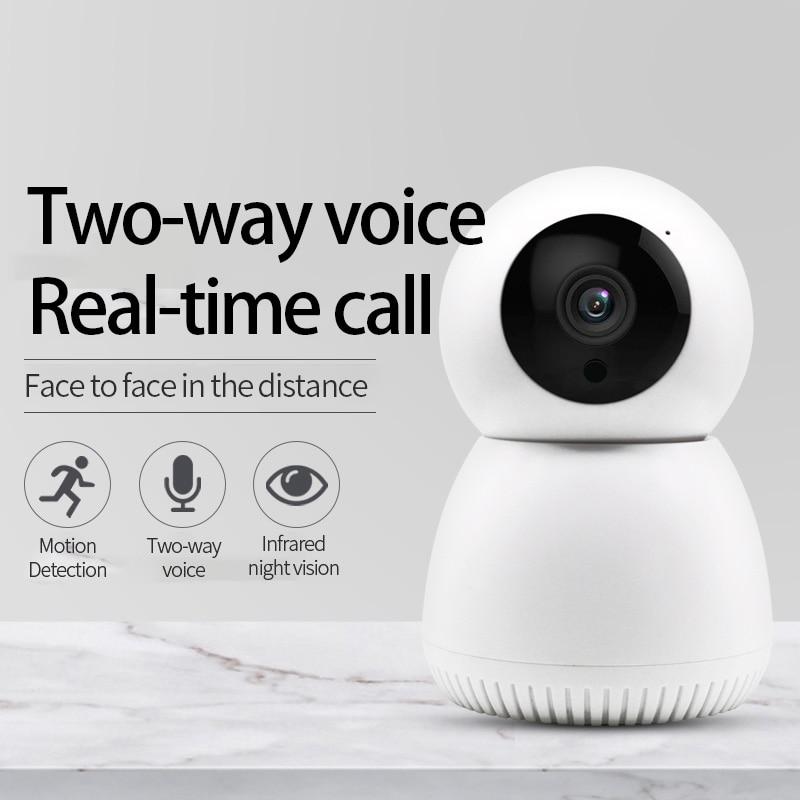 Wireless Wifi IP Camera Move Detection Auto HD Camera IR Night Vision PTZ 360 Visible Home Innrech Market.com