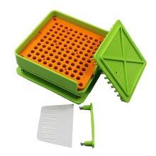 100 חורים לוח כמוסה מילוי מכונה Flate כלי Encapsulator תרופות מזון כיתה DIY ידני עמיד מהיר