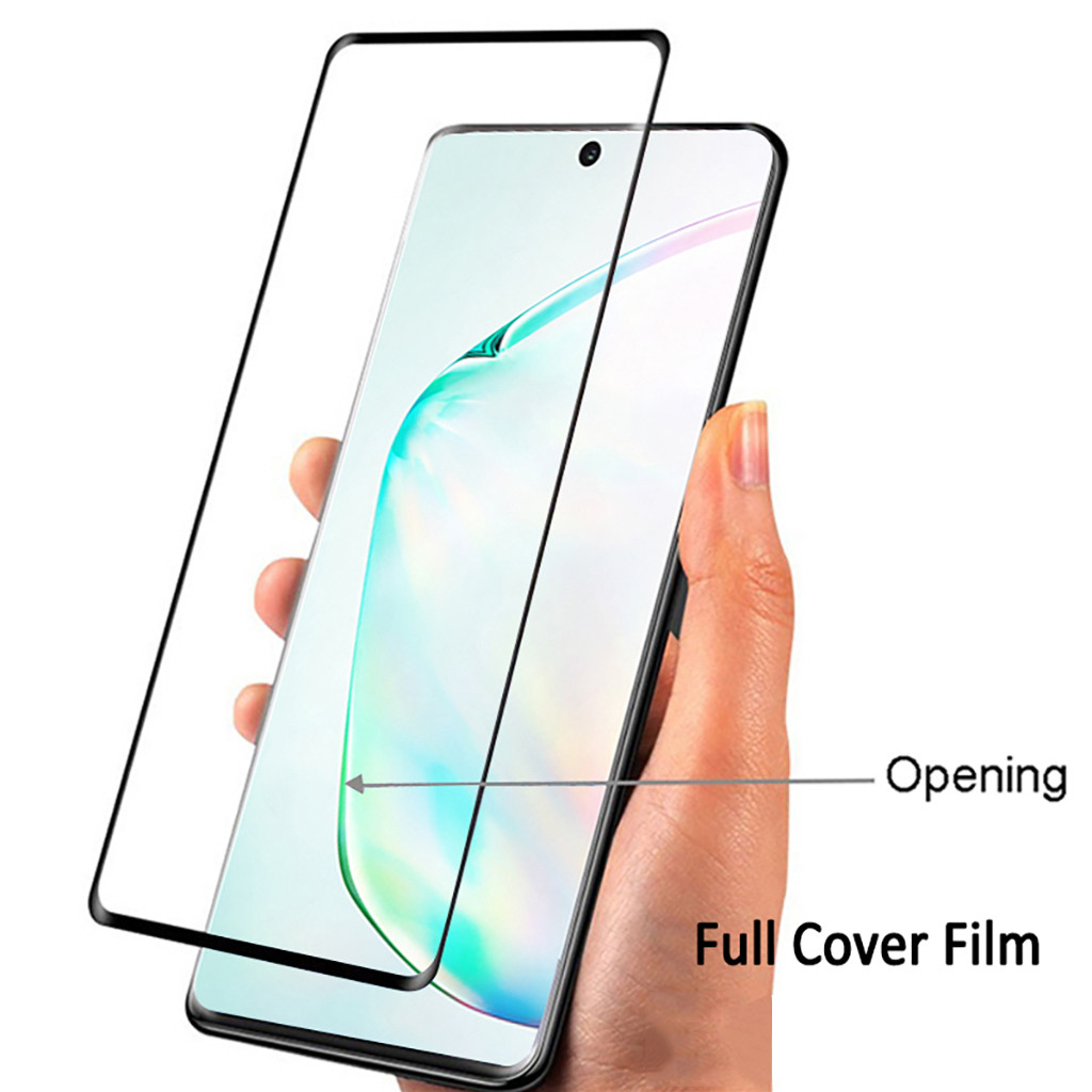 1PCS Tempered Glass Screen Protector For Samsung Galaxy Note 10+/Plus Ultra Clear HD Screen Eyes Protection Phone Protectors