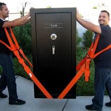 Полезный подъемный подвижный ремень, мебельный транспортный ремень в плечевых ремнях, командные ремешки, более легкий транспортировочный оранжевый
