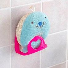 1 unidad de estante de baño toallero jabonera fregadero de cocina esponja soporte de almacenamiento ganchos Ventosa con ganchos