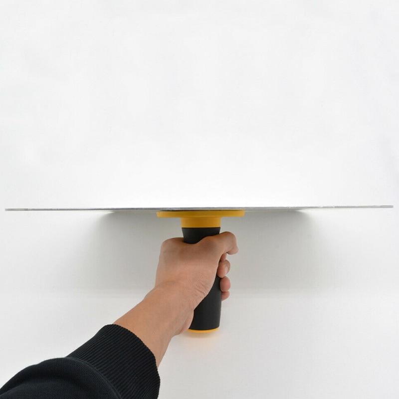 Aluminium Trowel Mortar Board Holder Construction With Handle Plastering Tool LKS99