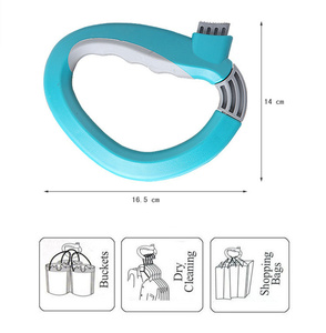 Image 5 - High quality Soft Grip Shopping Grocery Bag Easy Carrier Handle Holder  Handle Carrier Tool,Free shipping.