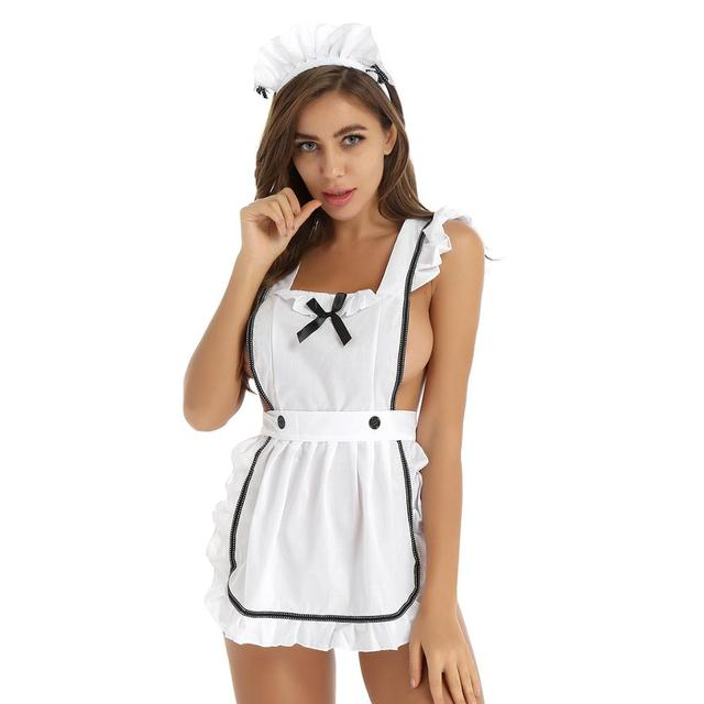 Hot Maid Costume Cosplay #C1523 2
