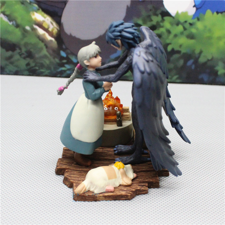 Howl's Moving Castle Anime Action Figure Prefect Quality Figurine Howl Sophie Handmade Toys For Children Home Decoration